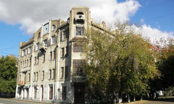 В здании расположено общежитие медицинского университета