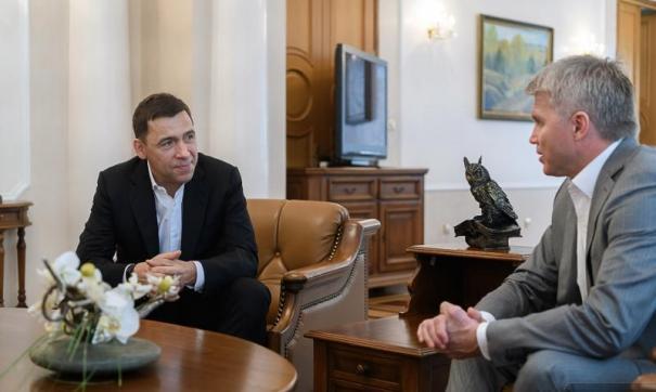 Евгений Куйвашев и Павел Колобков