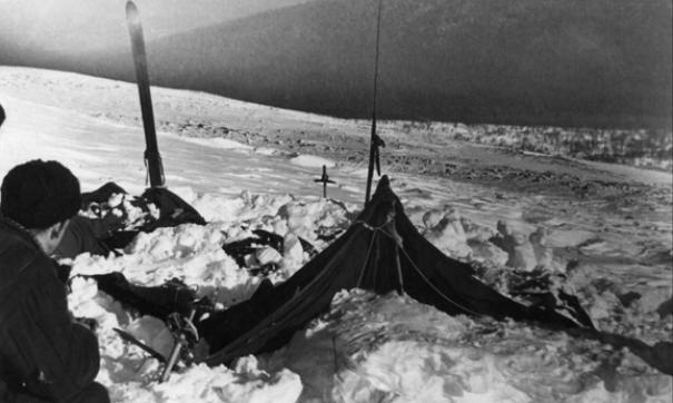 Палатка «дятловцев»