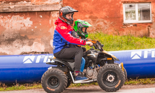 Соревнования по вождению квадроциклов
