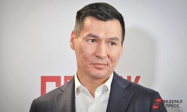 Олег Шеин выступил перед митингующими