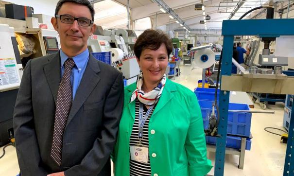Визит на завод про производству эндопротезов Samo