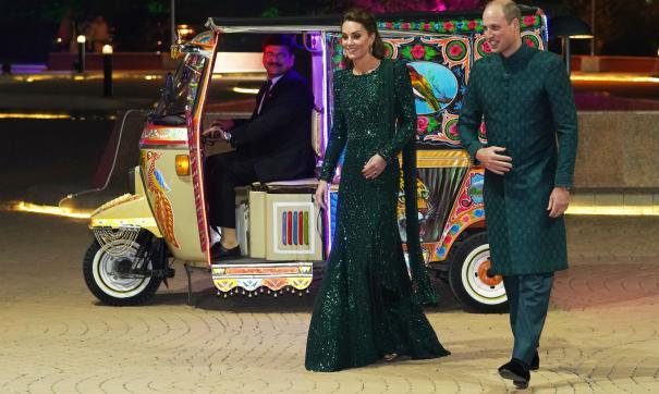 Уильям и Кейт прибыли в Пакистан с официальным визитом