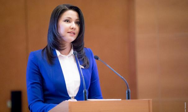Парламентарий Инга Юмашева прибыла на «Диалог Форт-Росса»