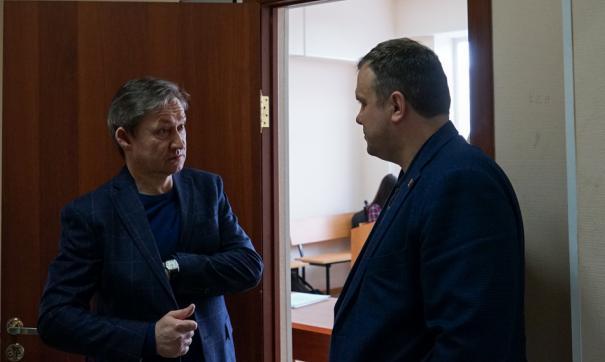 Накануне в суде выступили замглавы города Алексей Жердев и руководитель правового управления Ирина Гордеева