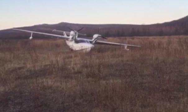 Самолет «Альбатрос» упал на полосу во время взлета в Магаданской области