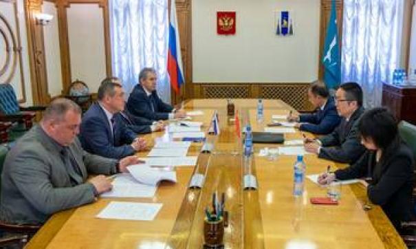 Проекты сахалинских предпринимателей заинтересовали китайского консула