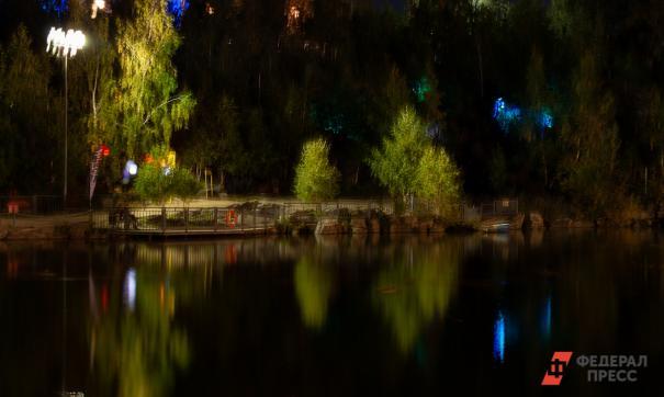 Парк у озера Алебашево сделают визитной карточкой Тюмени