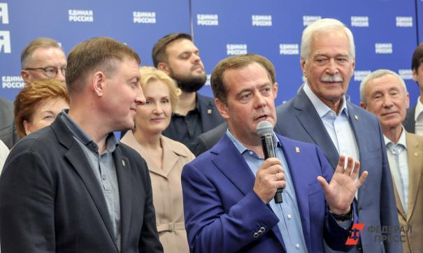В Свердловской области ожидают приезда Дмитрия Медведева