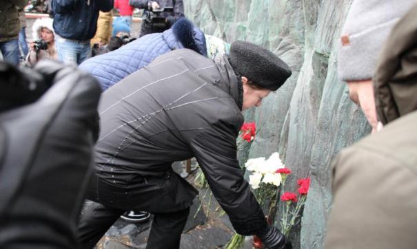 Акция посвящена жертвам политических репрессий в СССР