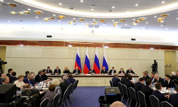 Губернатор Нижегородской области принял участие в расширенном заседании президиума Госсовета РФ