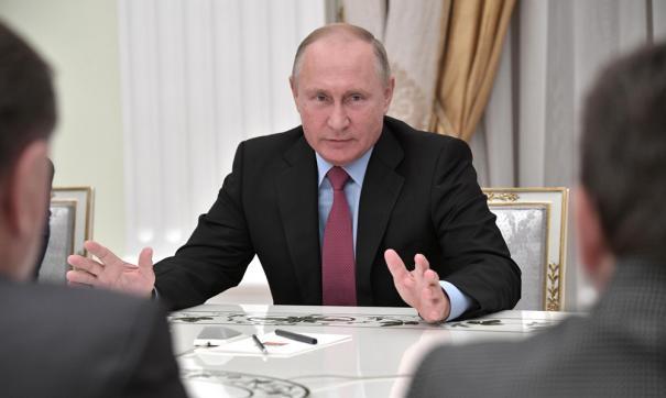 Путин провел встречу с избранными губернаторами