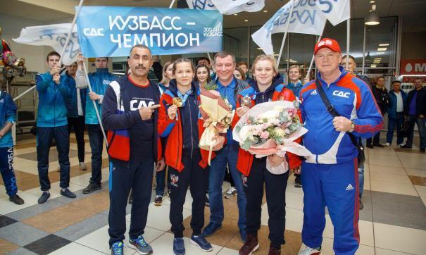 Кузбасских спортсменов наградят медалями на встрече с губернатором