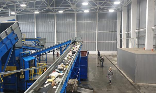 Мусоросортировочный автоматизированный комплекс подобного типа – единственный в России
