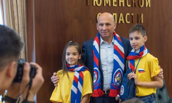 Вице-губернатор Тюменской области пообщался с участниками фестиваля «Птенец-2019». Мероприятие проходит в регионе в 26-й раз.