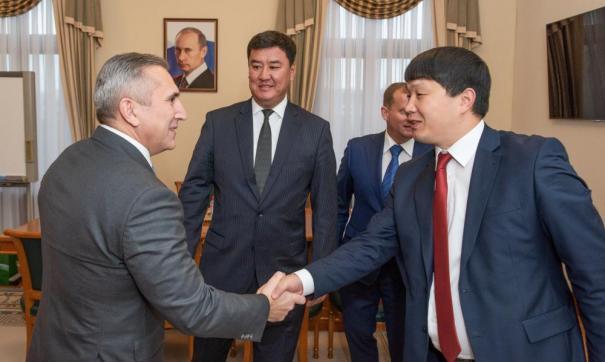 Гости из Киргизии отметили высокий экономический уровень развития области