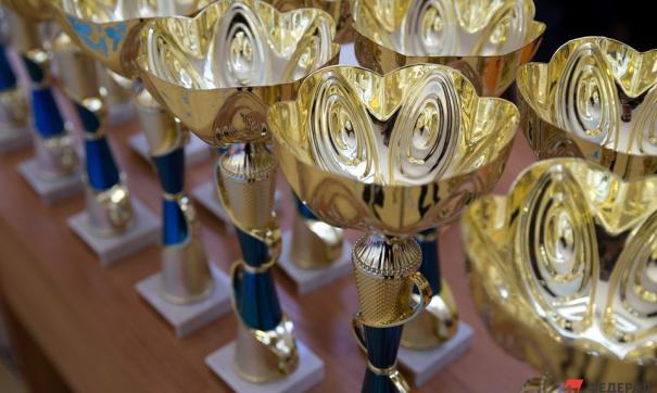 Лучшие спортсмены получили кубки Международного турнира по вольной борьбе