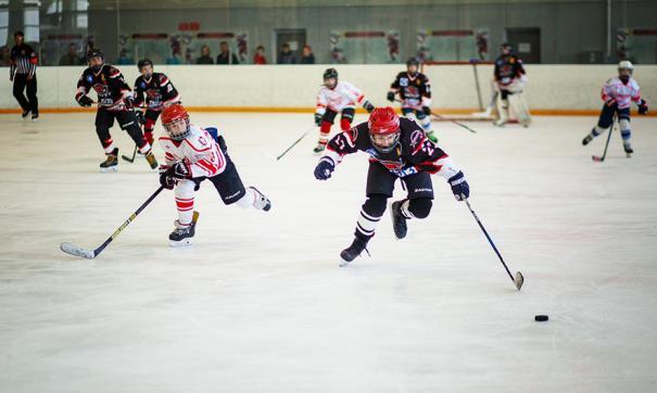 Юные хоккеисты Арзамаса одержали победу в межрегиональном детском турнире по хоккею