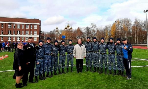 Пермские кадеты стали лучшими на соревнованиях, которые прошли в Чебоксарах