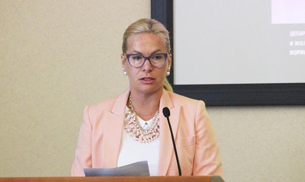 Анна Терешкова продолжит возглавлять профильный департамент