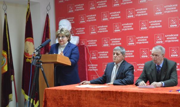 В ходе тайного голосования практически единогласную поддержку Елена Хрусталева