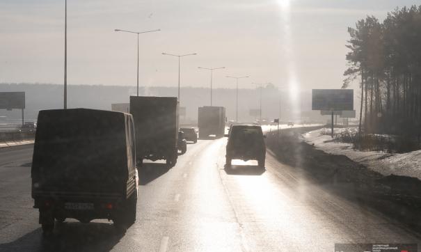 Химическое вещество использовали на центральных магистралях города