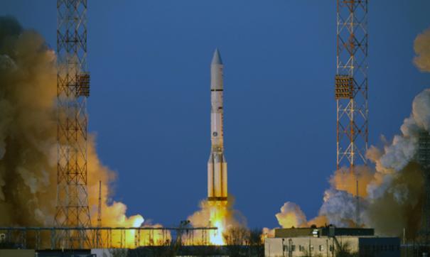 Запуск ракеты-носителя «Протон-М» состоится вечером 9 октября