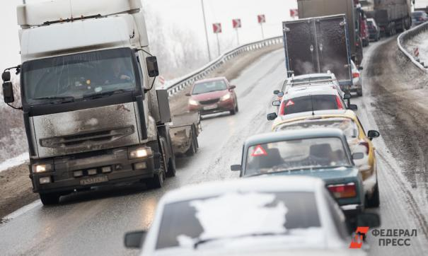 В разных районах города образовались многокилометровые пробки