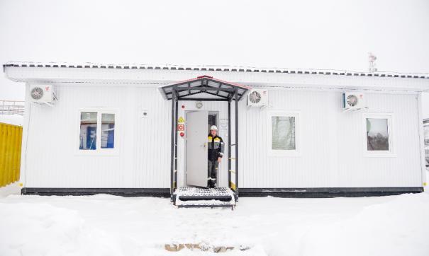 Общежитие для сотрудников «Самотлорнефтегаза» возведено по новой технологии