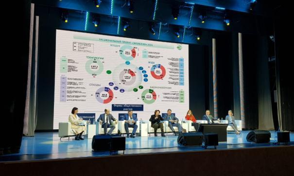 Пленарное заседание форума было посвящено теме «Экология XXI века: баланс интересов»