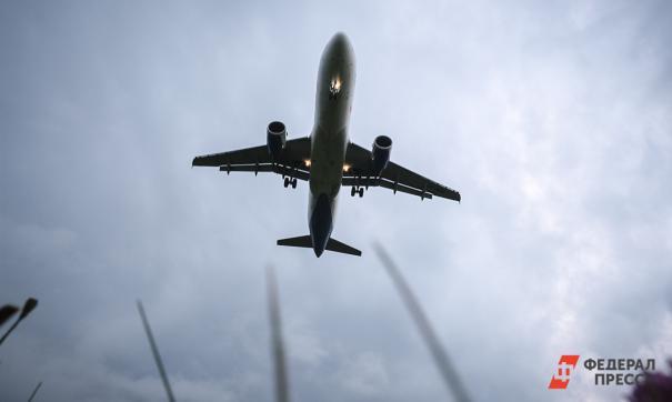 Самолет вернулся в аэропорт Нижневартовска из-за проблем с шасси
