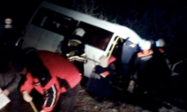 Семь человек пострадали в ДТП с маршруткой под Тамбовом