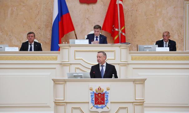 Закс Петербурга практически без боя вышел из бюджетных процедур