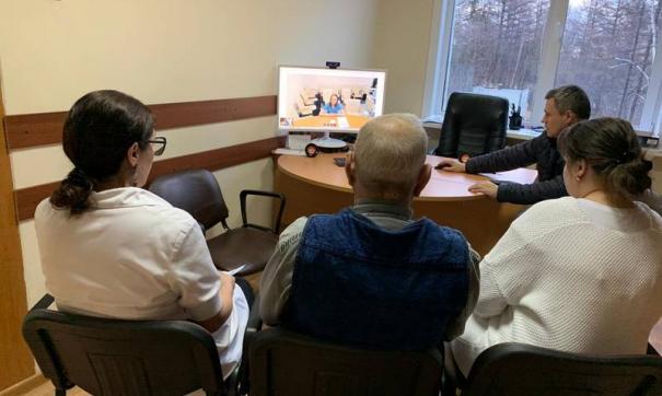 В Сахалинской области активно развивается сфера телемедицинских консультаций