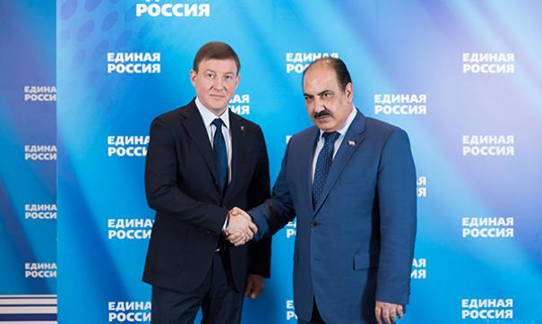 «Единая Россия» и БААС договорились об организации совместных образовательных модулей