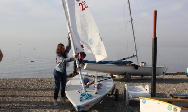 Анапский яхт-клуб начал тренировки на новом месте