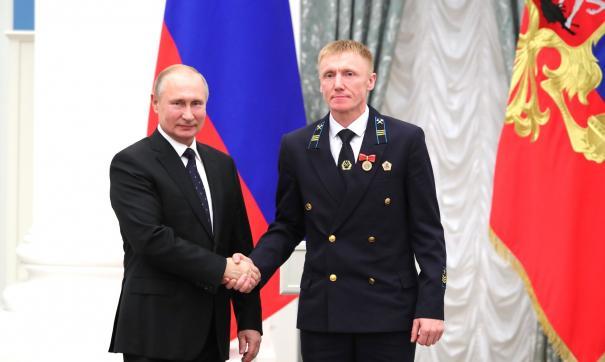 Владимир Путин и Эдуард Егоренко