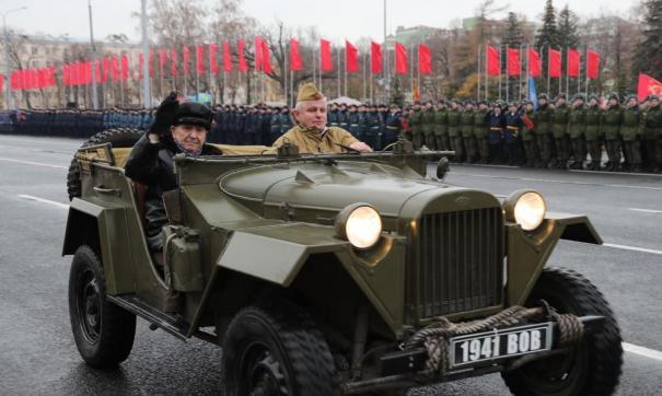 В Самаре прошел парад Памяти