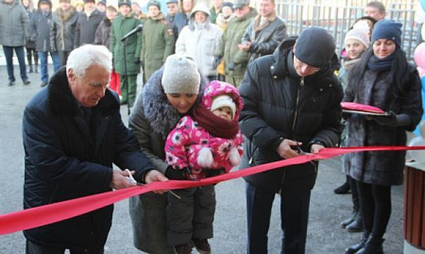 Жители села рады открытию детского сада