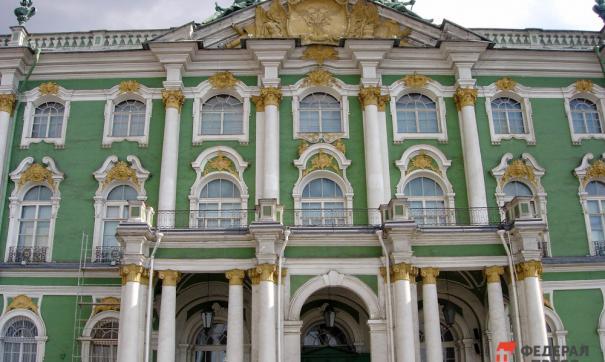 Зимний дворец является частью музейного комплекса Эрмитажа