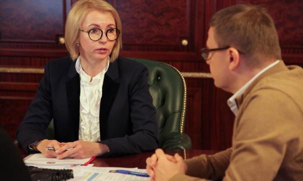 Ирина Гехт отметила – надо, чтобы молодежь видела, что в регионе есть наука