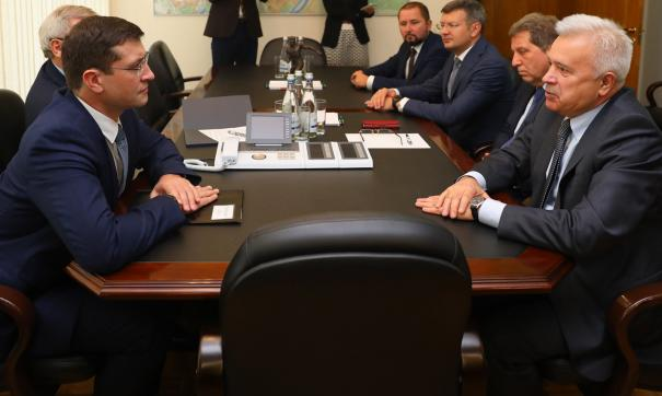 Глеб Никитин и Вагит Алекперов
