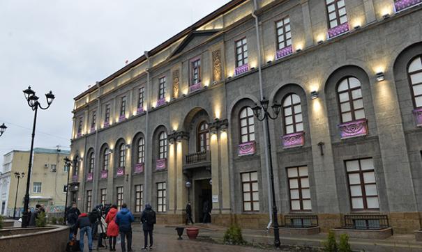 «Эрмитаж-Сибирь» находится в старинном здании, построенном более ста лет назад