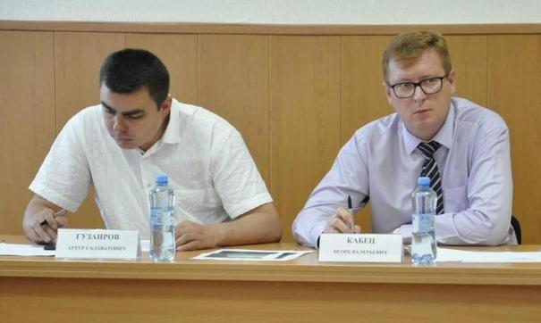 Артур Гузаиров и Игорь Кабец