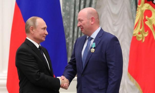 Владимир Путин вручил орден Дружбы Михаилу Воеводину