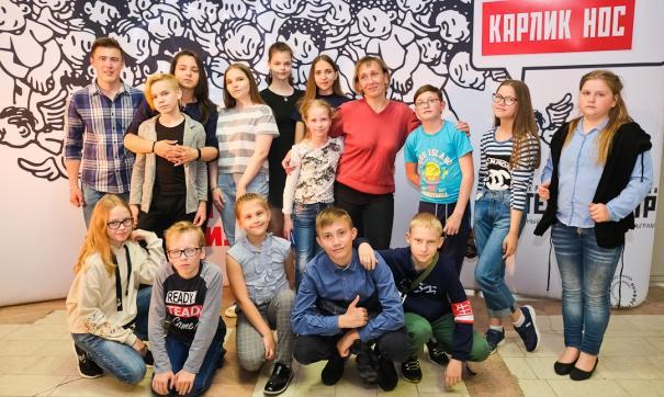 Артисты детской театральной студии «Балаганчик»