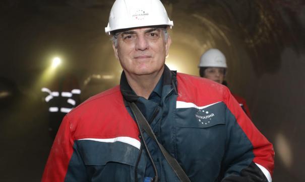 Господину да Силва Нунесу показали, как добывается калийная руда