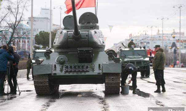 В параде Победы примет участие Т-34