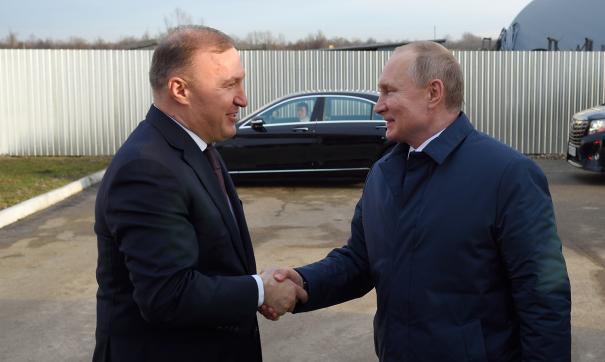 Кумпилов и Путин