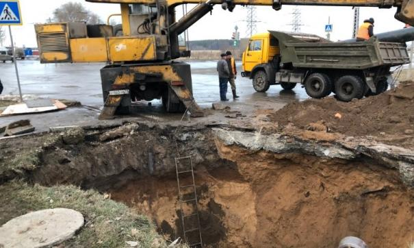 Коммунальная авария произошла в Заволжском районе Ульяновска ночью 9 декабря